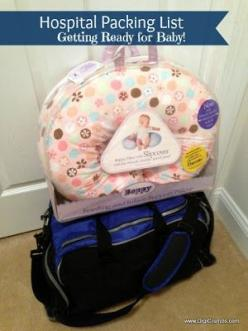 DigiCrumbs: My Hospital Packing List - Getting Ready for Baby: Baby Prep, List I Ve, Practical List, Baby Baby, Hospital Packing Lists, Hospital List, Hospital Bag List, Baby Stuff