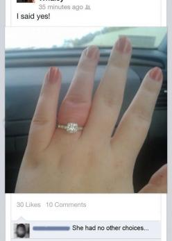 Even if she wanted to say no // funny pictures - funny photos - funny images - funny pics - funny quotes - #lol #humor #funnypictures: Hurt, Humor Funnypictures, Choice, Funny Pictures, Fingers, Funnies, Smile
