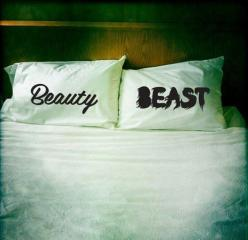 Fancy - Beauty & Beast Pillow Case Set: Ideas, Beast Pillow, Beauty Beast, Dream, Beauty And The Beast, Pillowcases, Pillows