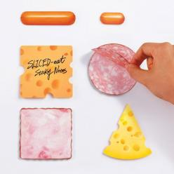 Fancy - Sliced Eat Sticky Notes: Creates Sliced, Marsmers Creates, Sticky Notes, Stuff, Eat Sticky, Food, Sliced Eat, Products, Design