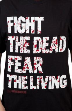Fear The Living Walking Dead Shirt: The Walking Dead Mens T-shirt: Thewalkingdead, Sweat Shirts, Walking Dead Shirts, Living Walking, Products, Fear