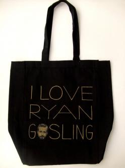 I Love Ryan Gosling Tote $20 at DNAtheshop.com: Ryan Gosling, Gift Guide, Tote 20, All Canvas, Baby Sister, 20 Dnatheshop Com, Birthday Ryan, Gosling Totes, Tote Bags