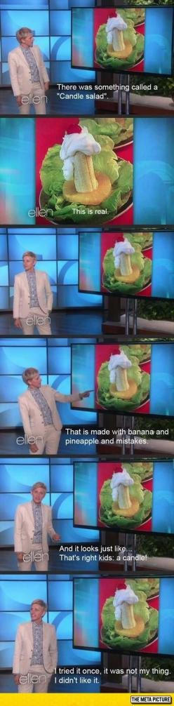 It's Certainly Not For Everyone: Ellen Degeneres, Giggle, Funny Pictures, Candles, Funny Stuff, So Funny