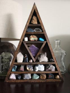 Jared gets a good laugh out of my mineral obsession. But srsly, they're not rocks ... they're minerals (said in my best Hank voice). And they're perfect for my workspace!: Gemstone, Gem Stones, Rock Collection, Collection Display, Crystals Col