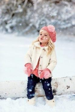 kids fashion kids clothing children girl boy: Picture, Little Girls, Winter Photo, Girl Outfits, Kids Fashion, Winter Outfit, Baby Girl, Future Kids, Has