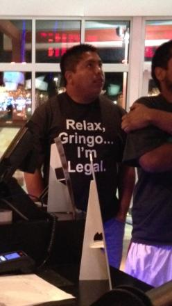 Lol...too funny cause you know people are alwaysss wondering: Funny Pictures, Relax Gringo, I M Legal, Funny Stuff, Humor, Funnies, Shirt
