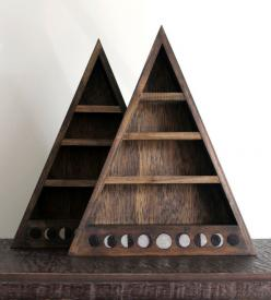 Love these. Perfect for displaying tiny trinkets and curiosities.: Phases Shelf, Moon Phases, Shelves, Phase Shelf, Stone, Garage Patio, Furniture, Moon Shelf, Products