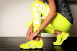 my favorite workout tights #justdoit: Fashion, Style, We Heart It, Exercise, Fitness Workout, Health, Neon Nike, Workout Clothes