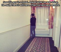 oh gosh id so do this: Giggle, There S Wifi, Guy, Funny, I Can Relate, Free Wifi