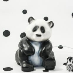 Panda Lamp,  $72 ~ Your child will love this adorable panda lamp that diffuses a warm & soft light | Sunday in Color: Gift Ideas, Favorite, Aoπ Gift, Bear Illustracions, Kid, Christmas Gifts, Animal