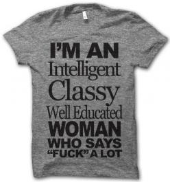Paris2london: Yes, yes I am. (via I'm An Intelligent Classy...: Tees, Style, Tshirts, My Life, T Shirts