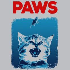 Paws Funny T-Shirt Cheap Jaws Shark Week Textual Tees: Textual Tees, T Shirt, Cheap Jaws, Paws Jaws, Sharks, Week Textual, Shark Week