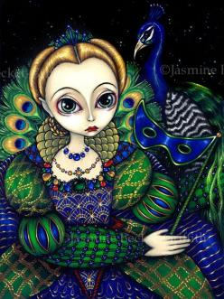 Peacock Art...By Artist Unknown...: Jasmine Becket Griffith, Becket Griffith Art, Feather Royalty, Art Prints, Art Painting, Birds Peacocks
