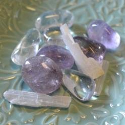 Restful Nights Crystals from Energy Muse Now  Helps to Battle Insomnia | Relaxing | Calming Our Restful Nights Feng Shui Crystals help you to get a good night's rest and sleep through the night. Amethyst, Quartz Crystal and Selenite bring calming and soot