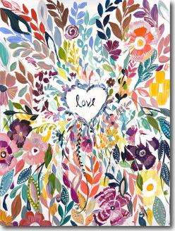 SkylineArtEditions.com - Love, $25.00 (http://www.skylinearteditions.com/love/): Inspiration, Pattern, Heart Painting, Fine Art, Flower Art Painting, Heart Watercolor, Flower Watercolor Painting
