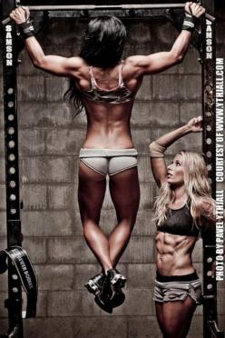 So...reminds me of my Best Friend and I :-): Body, Girl, Pull Up, Fitness Inspiration, Gym, Fitness Motivation, Health, Workout