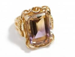 Super regal.... I love ametrine it is a mix of amethyst, the most healing stone, and citrine, a great detoxifying and regenerating properties... plus they are a combo on November and February birth month stones...: February Birth, Jewelry Design, Birth Mo