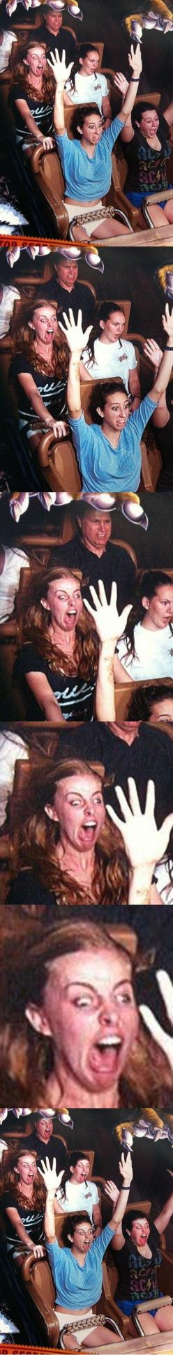 The longer you look....I'm dying.: Rollercoaster, Giggle, Laughing So Hard, Cant, Face Swaps, Roller Coasters, Funny Stuff, Faceswap, So Funny