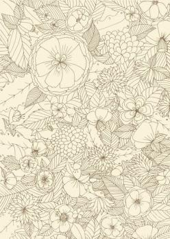 Theme, Development, Tropical, Biodiversity, Panache, Bra, Swimwear, University, Project, Style, Enhancement, Inspiration, Collection, Print, Pattern, Shape, Silhouette: Fine Line Tattoo, Coloring Pattern, Remember Coloring, Doodle, Flower Coloring Pages,