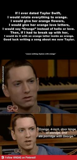 This is why Eminem is the best! <3: Taylor Swift, Giggle, Taylorswift, Stuff, Eminem, Funny