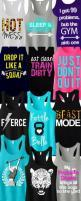 Tons of Cool colorful #Workout Tank Tops by #NoBullWomanApparel. Pick Any 3 for only $63.95. Even more to choose from on Etsy. Look good while you #Train and click here to buy! http://www.etsy.com/...: Fitness Tanks, Workout Shirts, Workout Tank Tops, Nob