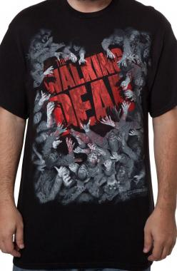 Walking Dead Zombie Attack: TV Shows The Walking Dead T-shirt: Attack T Shirt, The Walking Dead, Walking Dead Zombies, Tshirt, Products, Walking Dead ️