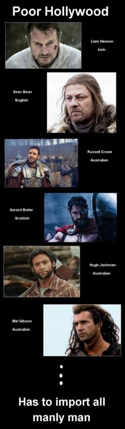 Yes, John Barrowman belongs on this list too.  Hollywood has completely sold out to the lowest standards.  Crap movies are far more common than watchable ones.: Giggle, Random, Movie, Funny Stuff, Poor Hollywood, Humor, Poorhollywood