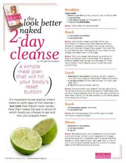 2-day cleansing....wanna do something like this.: Weight, Recipe, Diet, 2Daycleanse, Fitness, 2 Day Cleanse, Food, Better Naked, Workout