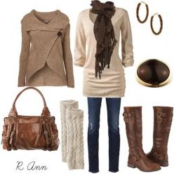 """!"" by rachelann34 on Polyvore sweater $37.00 Scarf $23.00 Boots socks $32.00 Top Sweater $59.00: Style, Dream Closet, Fall Outfits, Winter Outfits, Winter Fashion, Fall Fashion, Fall Winter, Leg Warmers"