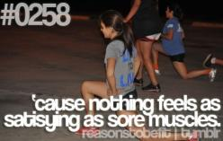 'cause nothing feels as satisfying as sore muscles!: Fitness, Truth, Sore Muscles, Motivation, So True, Health, Workout