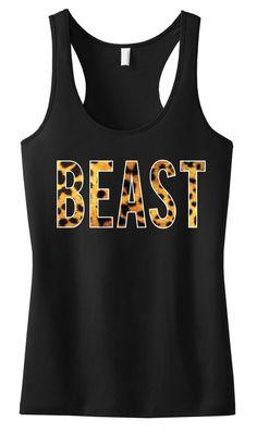 BEAST Leopard #Tank Top #Workout Clothing by #NobullWomanApparel, for only $24.99! Click here to buy http://www.etsy.com/listing/183968110/beast-leopard-tank-top-workout-clothing?ref=shop_home_active_6