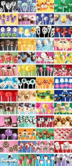 Cake pops everywhere! Omg need to try these!!: Cake Pop Idea, Cake Pops Idea, Cakes, Pop Ideas, Cake Pops Recipe, Pop Cake, Cake Pops