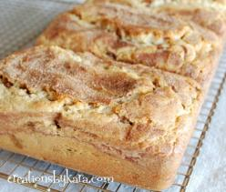 Cinnamon Sugar Snickerdoodle Bread  ~  Oh my goodness it is delish! If you are a fan of Snickerdoodles, you have got to give it a try.: Snickerdoodle Bread, Sweet Breads, Snickerdoodle Cinnamon, Cinnamon Bread, Quick Bread, Recipes Bread, Bread 007