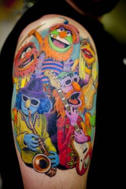 Dr. Teeth And The Electric Mayhem: Tattoo Ideas, Electric Mayhem, Awesome Tattoo, Tattoos, Body Art, Tattoo'S, Muppets Tattoo, Ink