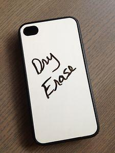 Dry Erase iPhone case. Available for many different phones as well. Not just the iPhone!: Iphone Cases, Iphone 4S, Fun Phone Case, Awesome Iphone Case, Phonecases, Awesome Phone Case, Phone Accessories, Phone Cases For Iphone 4, Erase Iphone