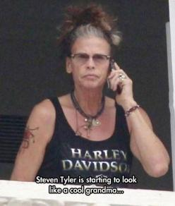 Dude Looks Like A Lady <-- LMAO exactly what I was thinking! Steven Tyler is the man though, rock on ;): Giggle, Dude, Funny Stuff, Lady, Humor, Funnies, Steven Tyler, Things