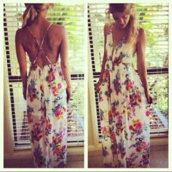 Floral Maxi Dress: Summer Wedding Outfit, Maxi Dresses, Summer Dress, Summer Outfit, Floral Pattern