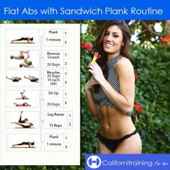 Follow this workout and get Amazing Abs before summer.  Check out this website to see how I lost 19 pounds in one month: Amazing Abs, Flat Abs, Abs Workout, Plank Routine, Abs Routine, Exercise, Sandwich Plank, Ab Workouts