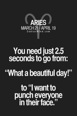 Fun facts about your sign here: Zodiac Signs Funny Truths, Horoscope Arie, Zodiac Arie, Aires Quote, Zodiac Sign Arie, Aries Facts Truths, Aries Girl, Aries Facts Funny