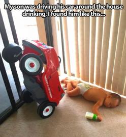 Funny.: Drive, Funny Stuff, Funnies, Humor, Baby, Drinks, Kid