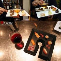 Hands Free Wine and Cheese Party: Idea, K Wine, Wine Plate, Wine Glass, Food Plates, Wine Food, Finger Food