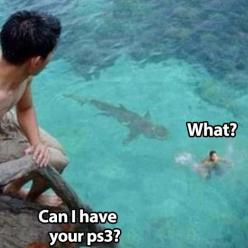 I laughed a little too much: Giggle, Ps3, Funny Picture, Funny Stuff, Humor, Funnies, Things, Sharks