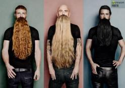 I Thought this was ZZ Top til I looked at the pic full size and then it HIT ME lol make you look twice: Beards, Optical Illusions, Funny, Advertising, Garnier Fructis, Ads, Hair, Photo
