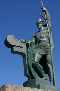 Ingolfur Arnarson Statue The first Nordic settler of Iceland.  He built his home in (and gave name to ) Reykjavík in the year 874. Made by Einar Jónsson in 1924 and located at Arnarhóll, Reykjavík: Icelandic Lullaby, Iceland I Dream, Iceland Ísland, Icela