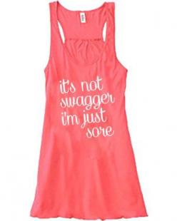 It's Not Swagger I'm Just Sore Tank Top - Crossfit Shirt - Workout Tank Top Hahahahah, this is perfection!!: Workout Shirts, Tank Tops, Crossfit Shirts, Racerback Tank, Running Shirts, Workout Clothes
