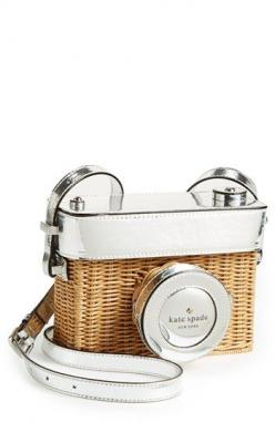 kate spade wicker camera bag: Shoulder Bags, Camera Shoulder, Kate Spade Bag, Kate Spade Purse, Wicker Camera, Katespade, Cameras