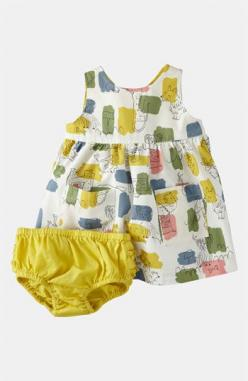 Mini Boden Wrap Dress (Infant) | Nordstrom: Wrap Dresses, Apron Pinnie, Mini Boden, Babygirl, Aprons, Baby Girl, Minis, Baby Dresses, Miniboden Apron