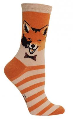 Mr. Fox Socks from The Sock Drawer: Animal Socks, Style, Length Socks, Woman Shoes, Womens Shoes, Bow, Foxes