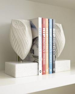 Pair of Owl Bookends by Jonathan Adler at Neiman Marcus. Order with your Amex & get free 2-day shipping and a free ShopRunner membership! https://www.shoprunner.com/americanexpress?utm_source=amex&utm_medium=email&utm_campaign=email2 #who: Dec