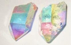 RESERVED for Maggie -- Stardust Studs -- Angel Aura Quartz Points: Cut Gemstones, Crystals Gems Minerals Rocks, Quartz Crystal, Crystals Stones, Gemstone Crystalart, Gems Minerals Rocks Stones, Things